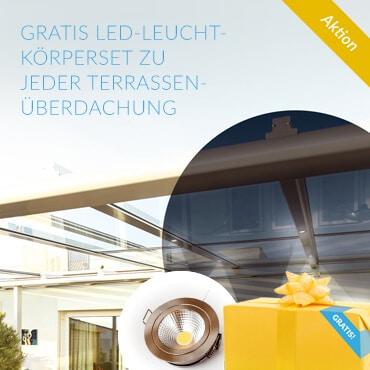 LED für Terrassenüberdachung
