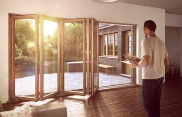 Sunflex Holzfalttüren