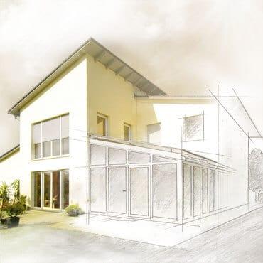 Planung Wohnraumerweiterung Oberösterreich