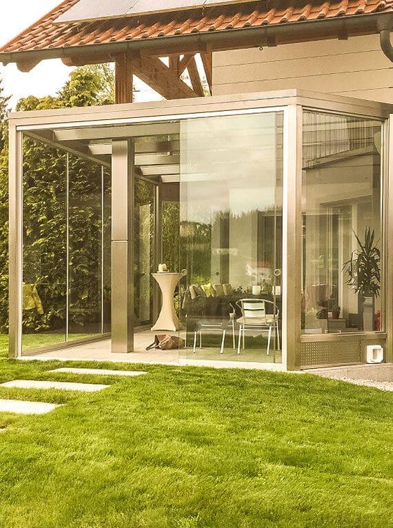 Terrassenverglasung in Gramastetten
