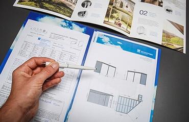Wintergarten-Planung