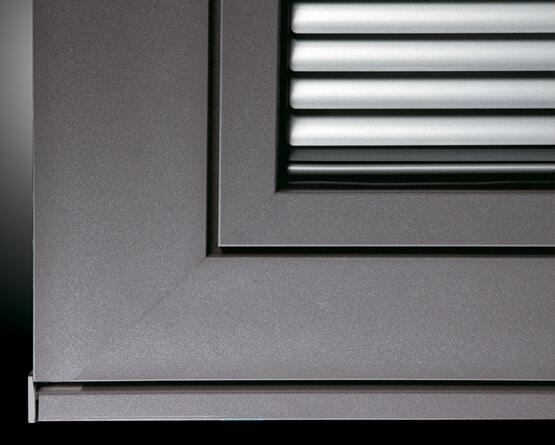 Detail Kunststoff-Alu Fenster