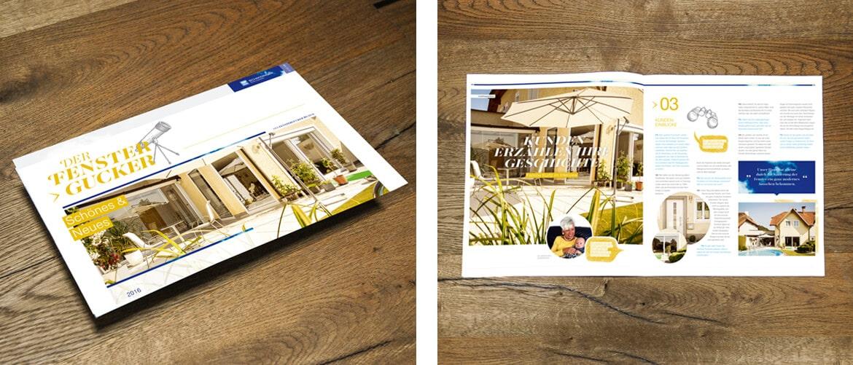 Schmidinger Kundenzeitschrift Fenstergucker