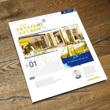 Kundenzeitschrift Fenstergucker