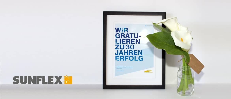 Fenster Schmidinger gratuliert Sunflex Aluminiumsysteme