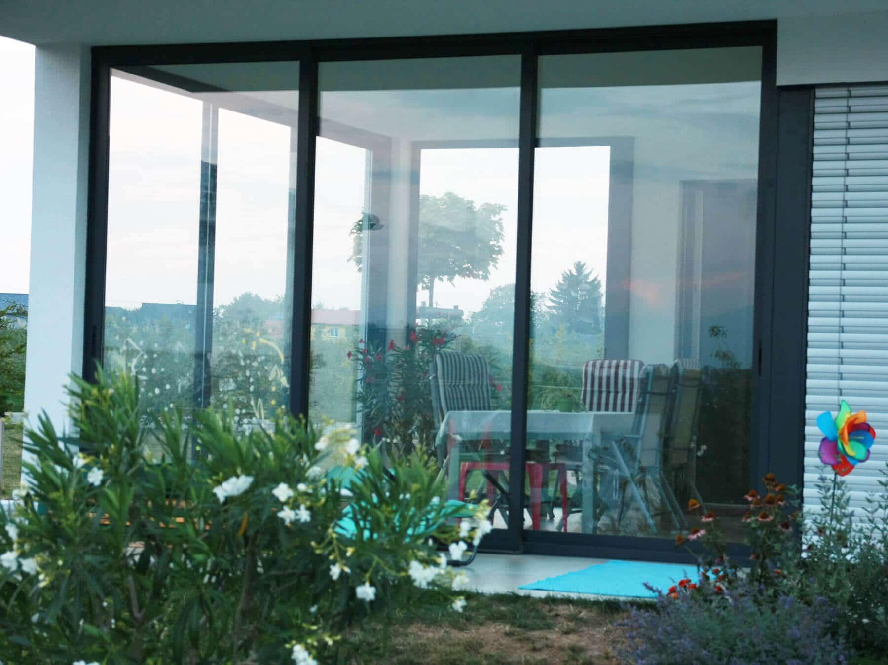 Aluminium-glas Schiebetüren Für Terrasse - Fenster Schmidinger Schiebeturen Fur Die Terrasse
