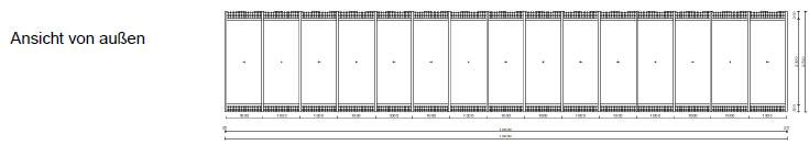 Alu-One Fassadenelement
