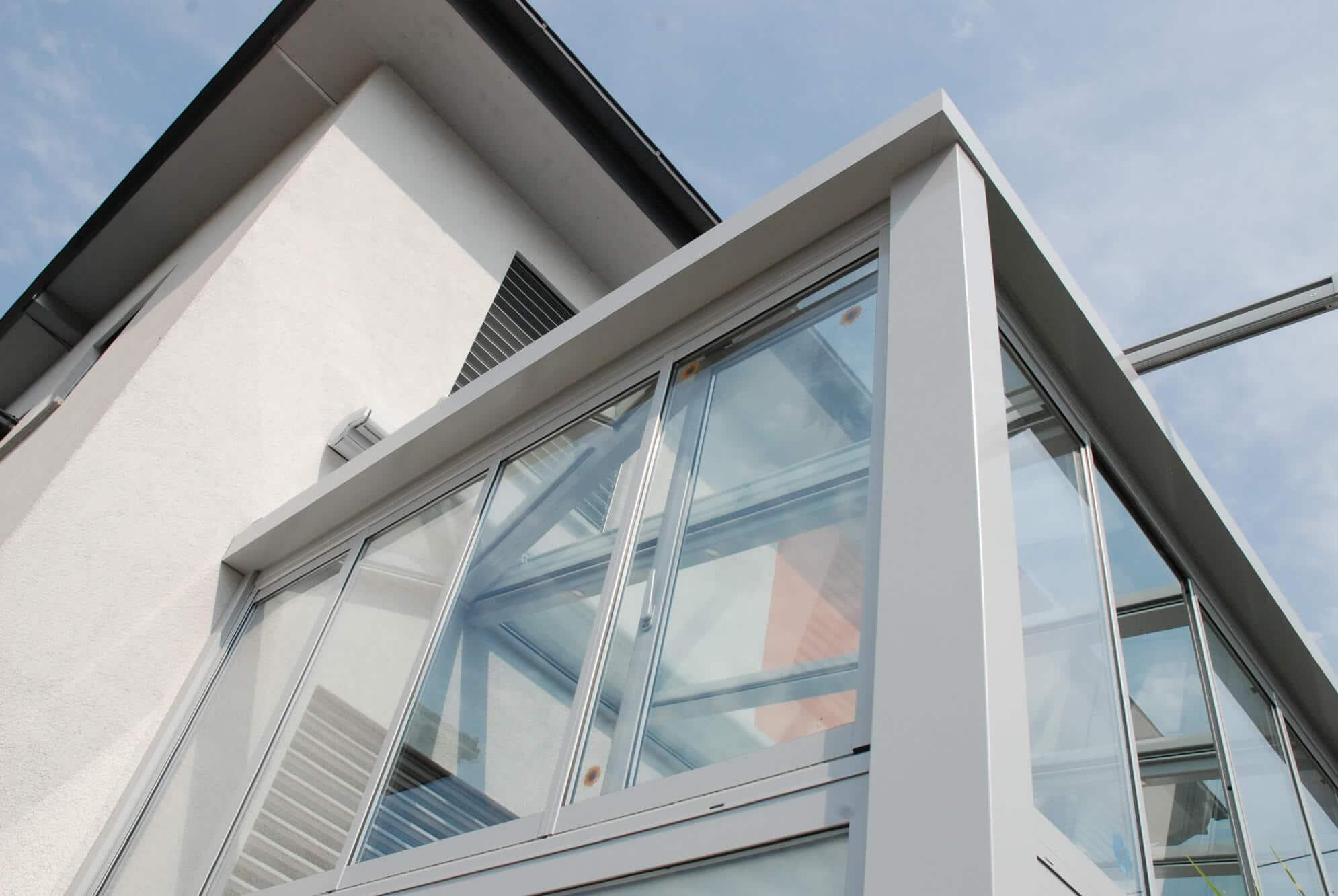 Aluminium Falt Fenster