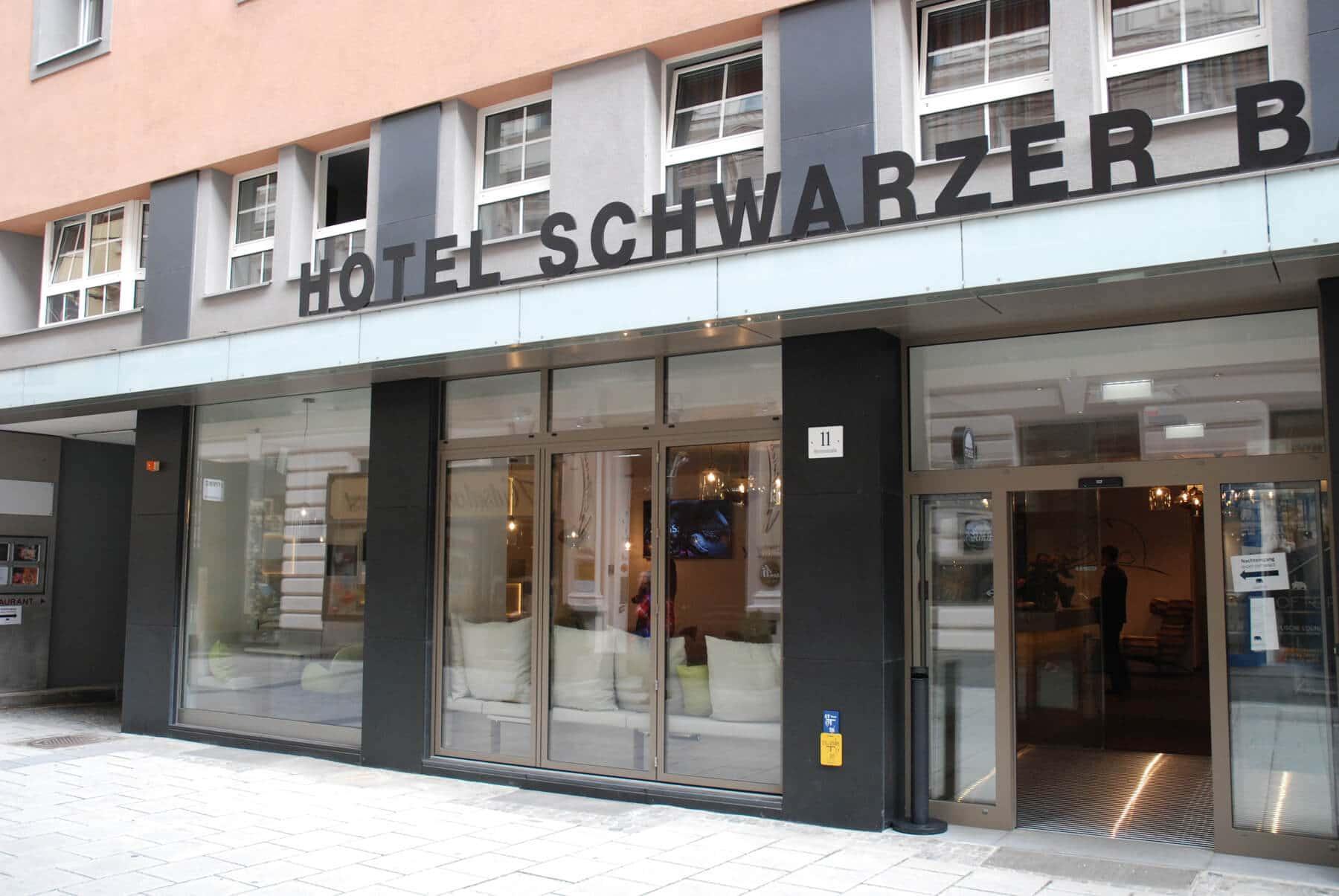 Aluminium Faltwände für Hotel Schwarzer Bär in Linz