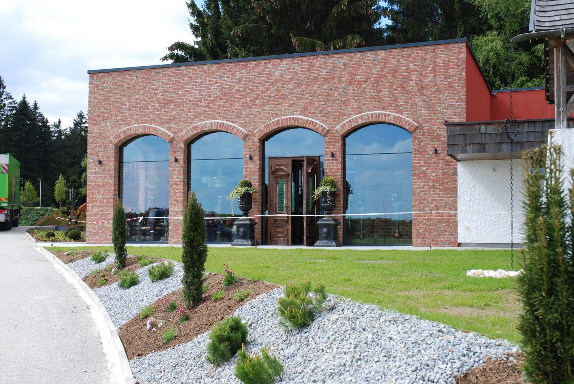 Aluminium Fenster für Brauhaus