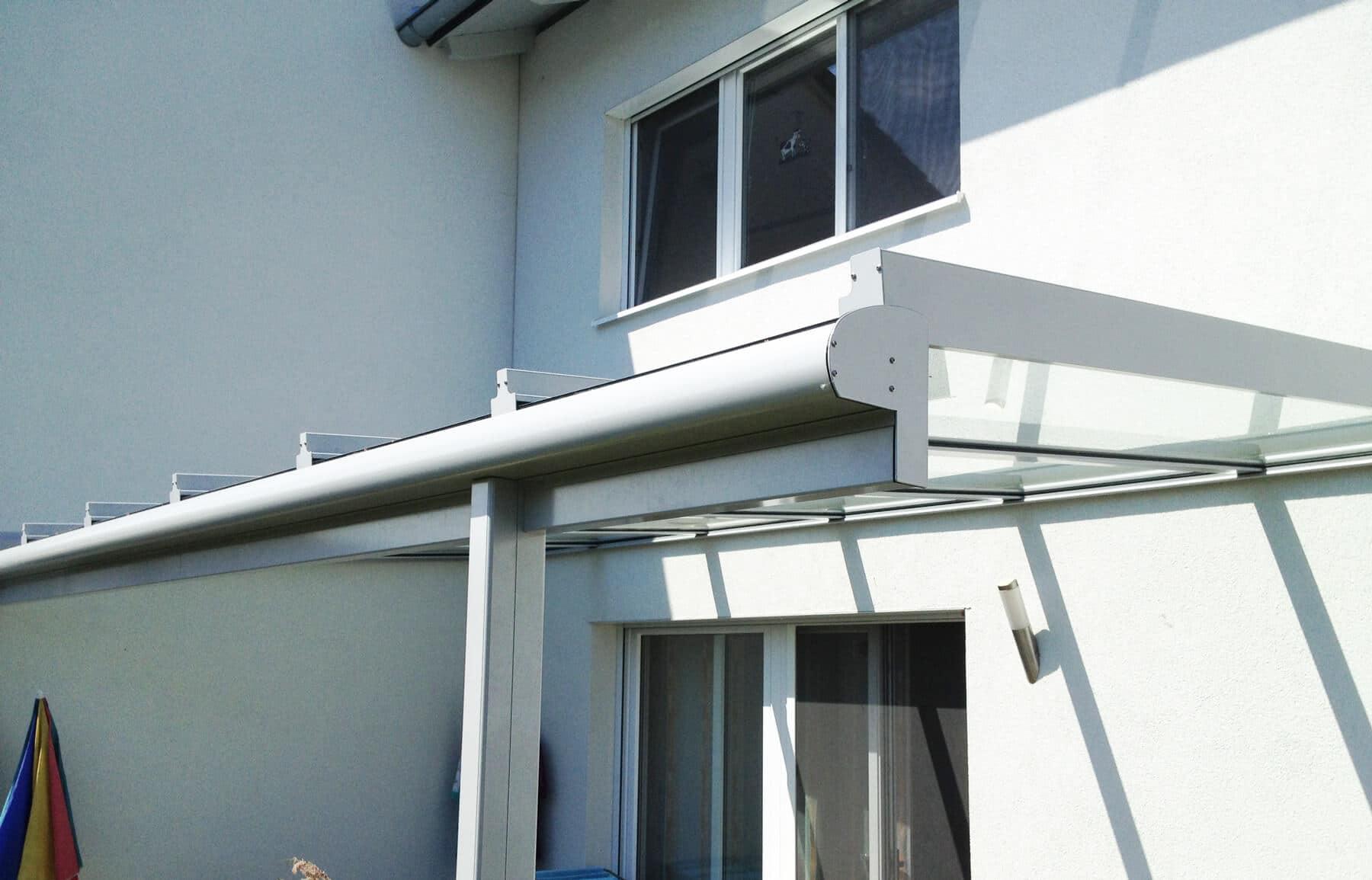 Aluminium Glasüberdachung