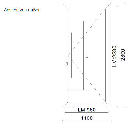 Aluminium Haustüre kaufen Österreich