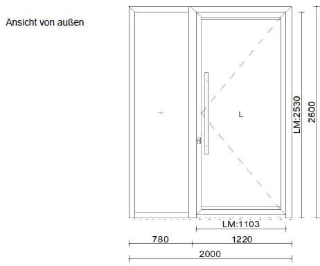 Aluminium Haustüren kaufen - Österreich