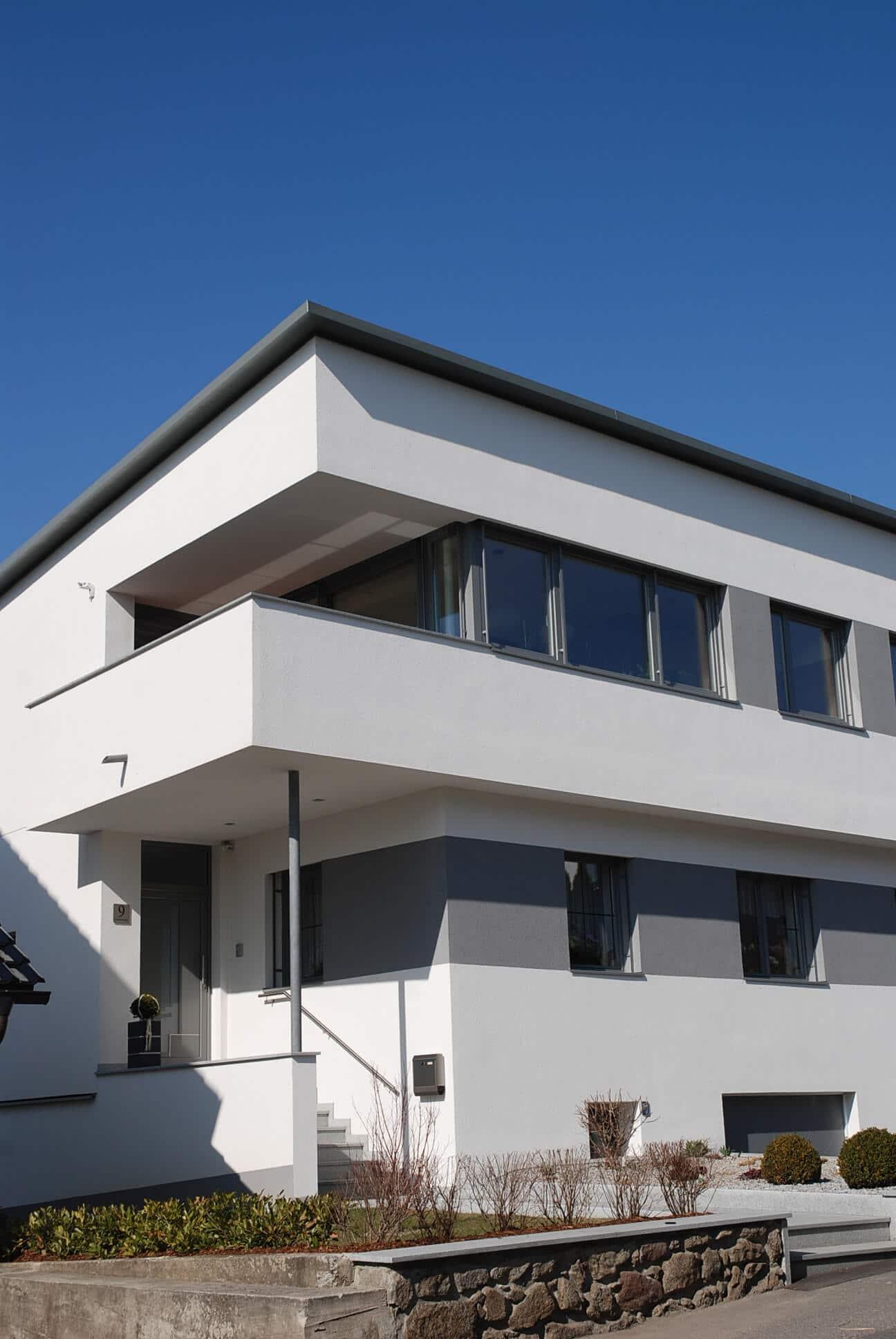 Aluminium-Kunststofffenster für Einfamilienhaus