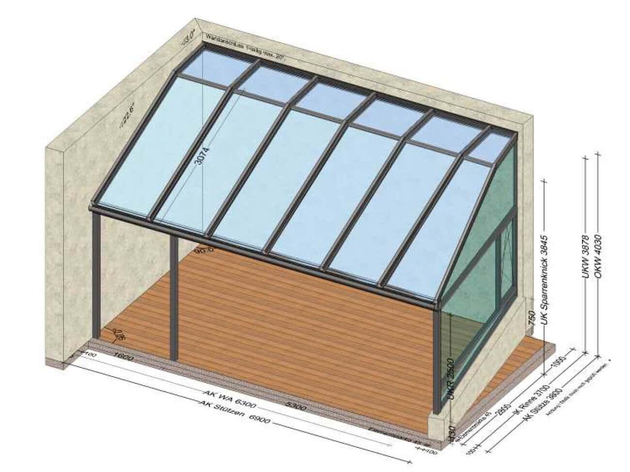 Außergewöhnliche Terrassenüberdachungen in Alu nach Maß