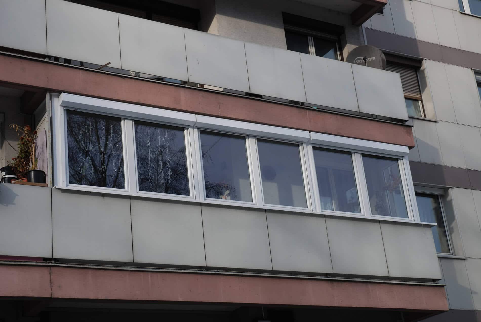 Balkon Fenster Schallschutz