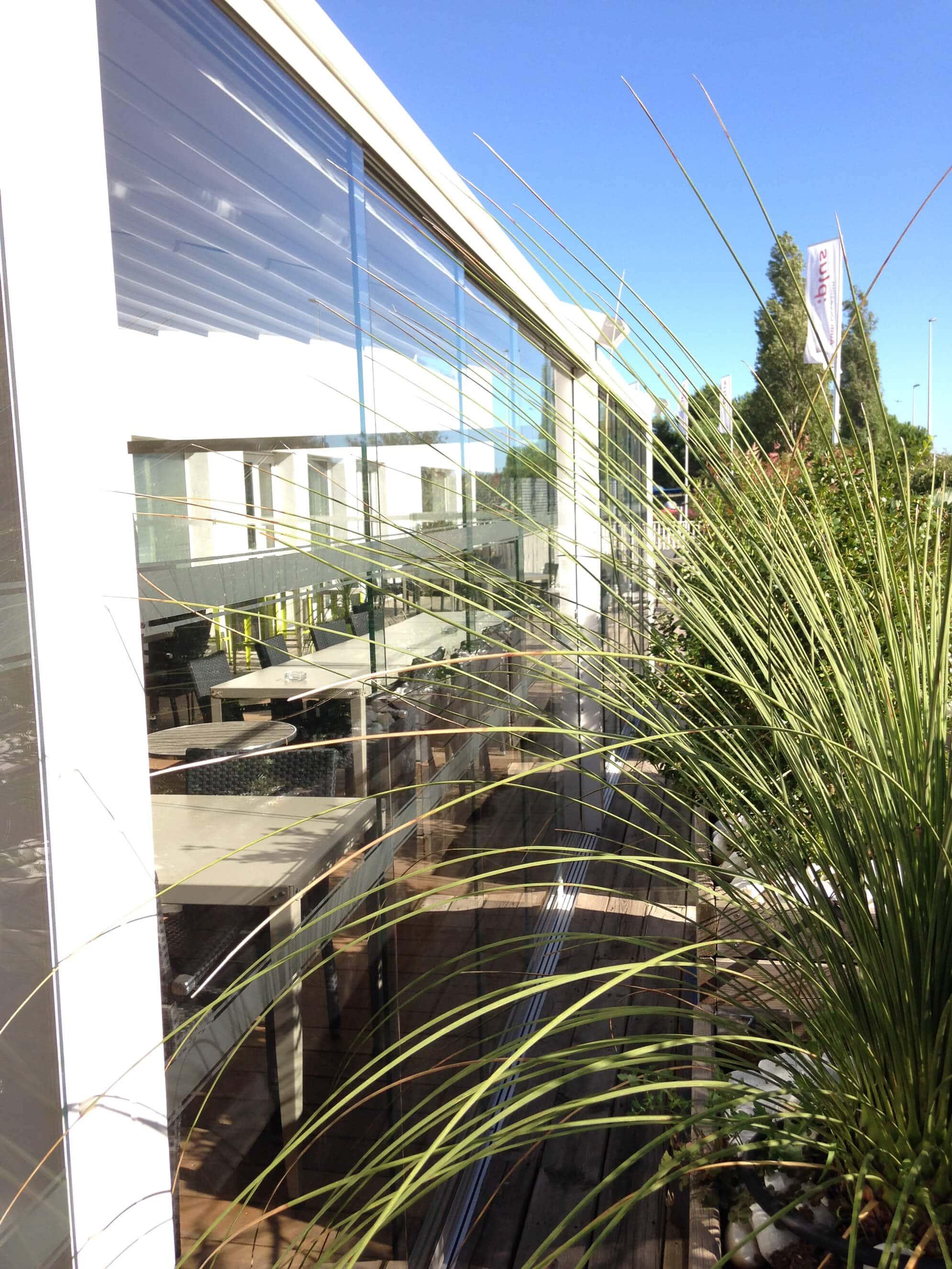 Balkon- und Fassadenverglasungen