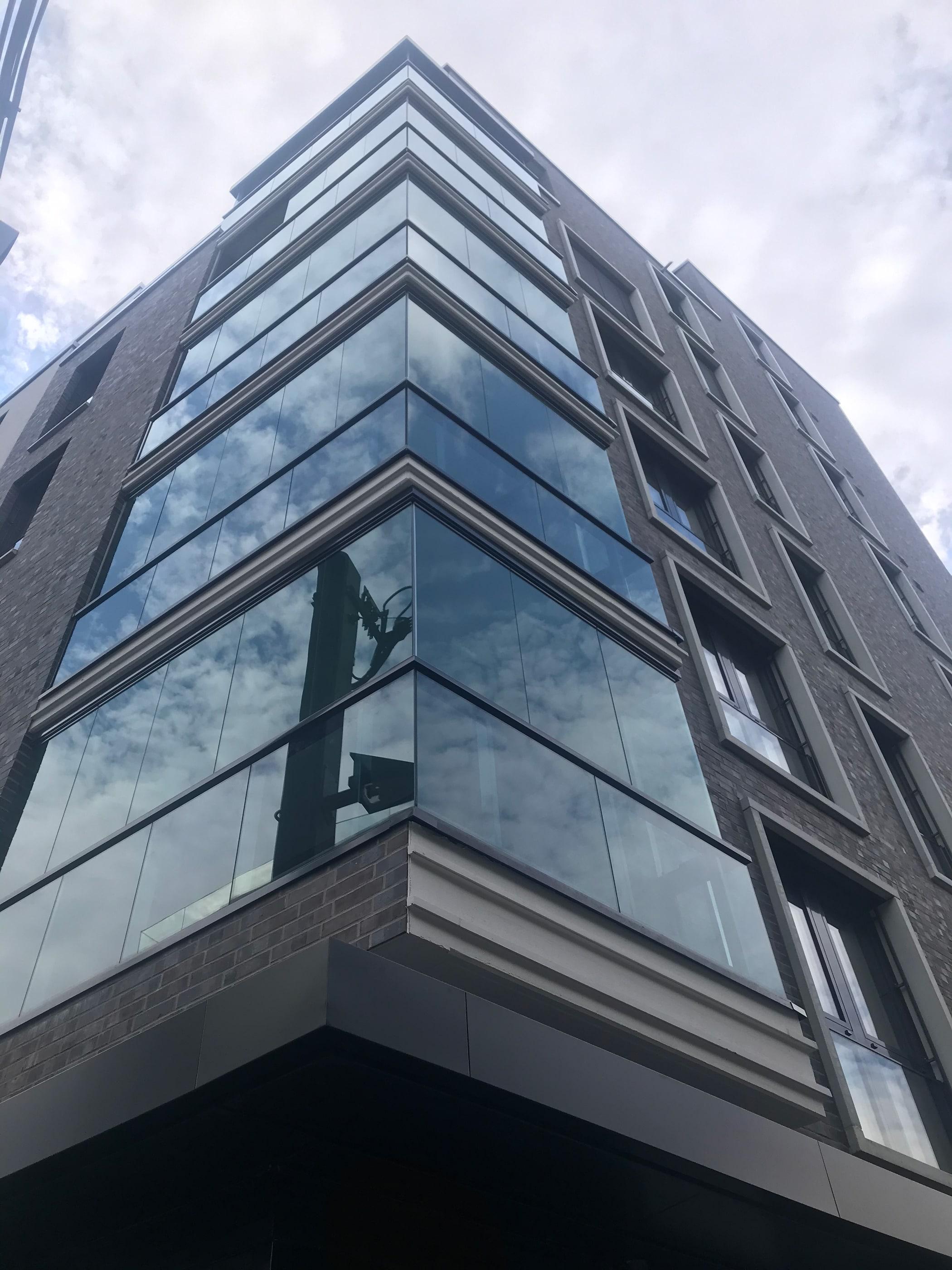 Balkon- und Terrassenfenster Nur-Glasfenster