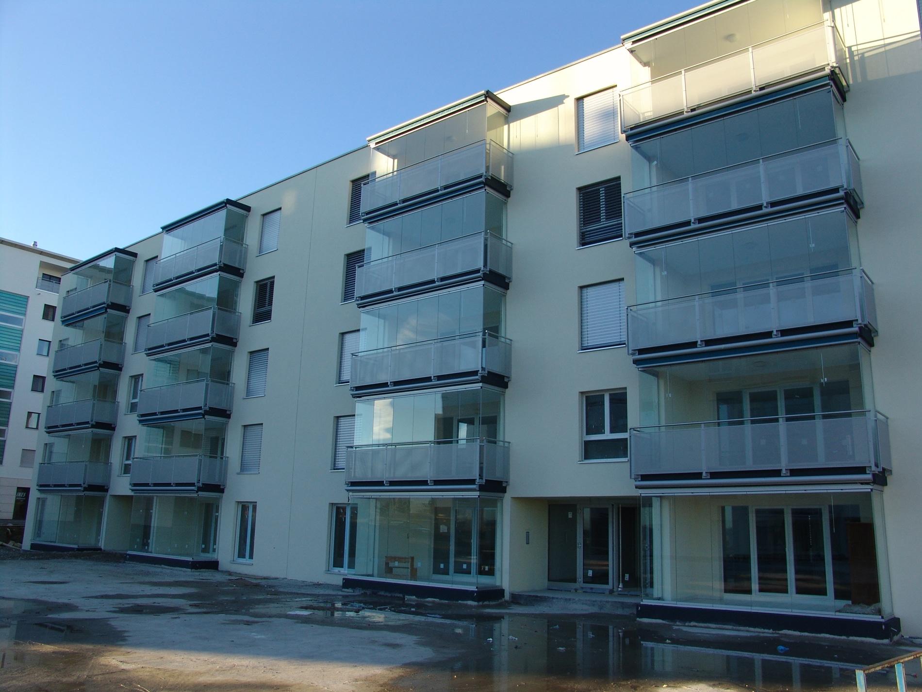 Balkonschiebewand Sunflex