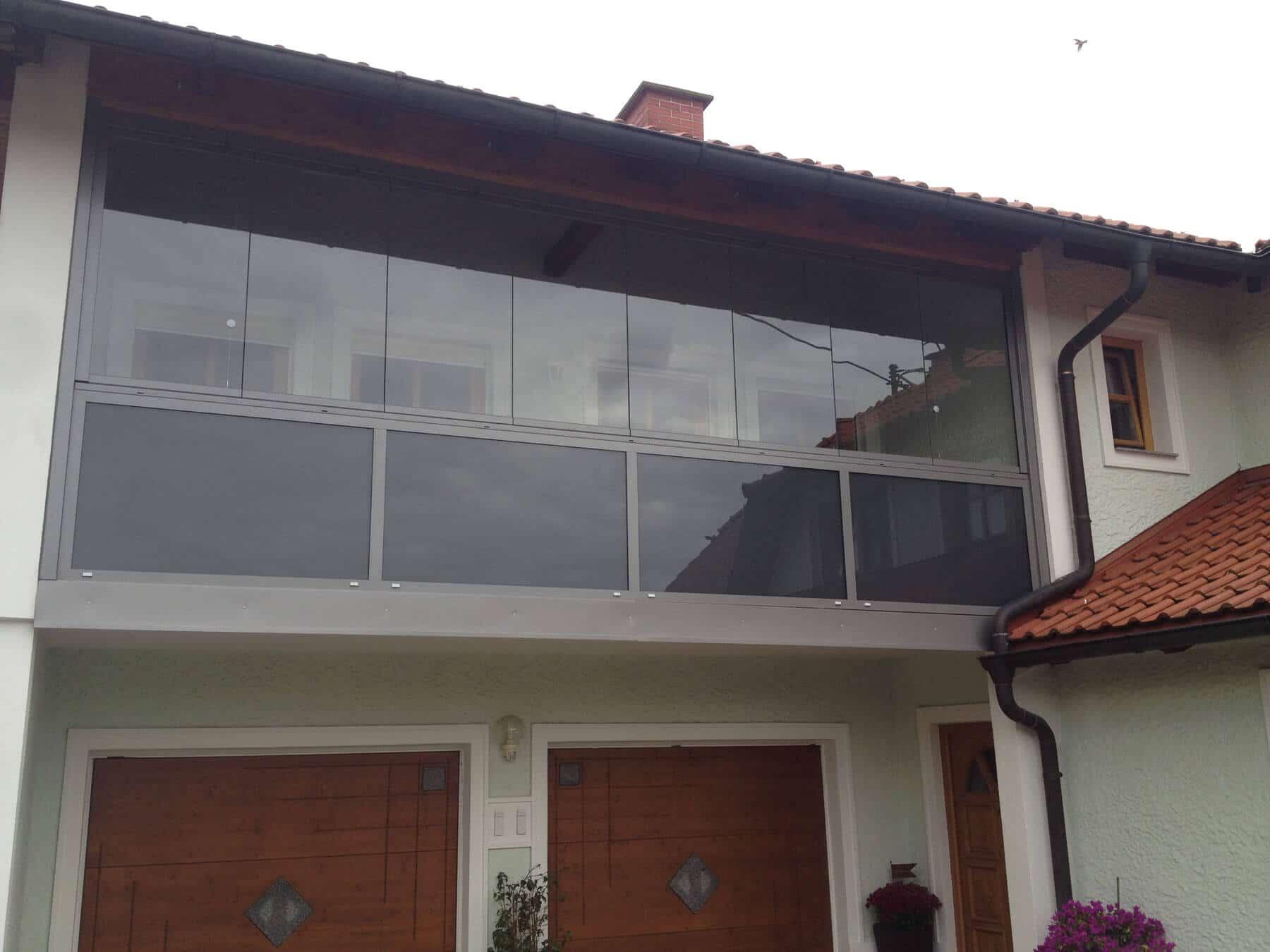 Balkonverbau schafft zusätzlichen Wohnraum