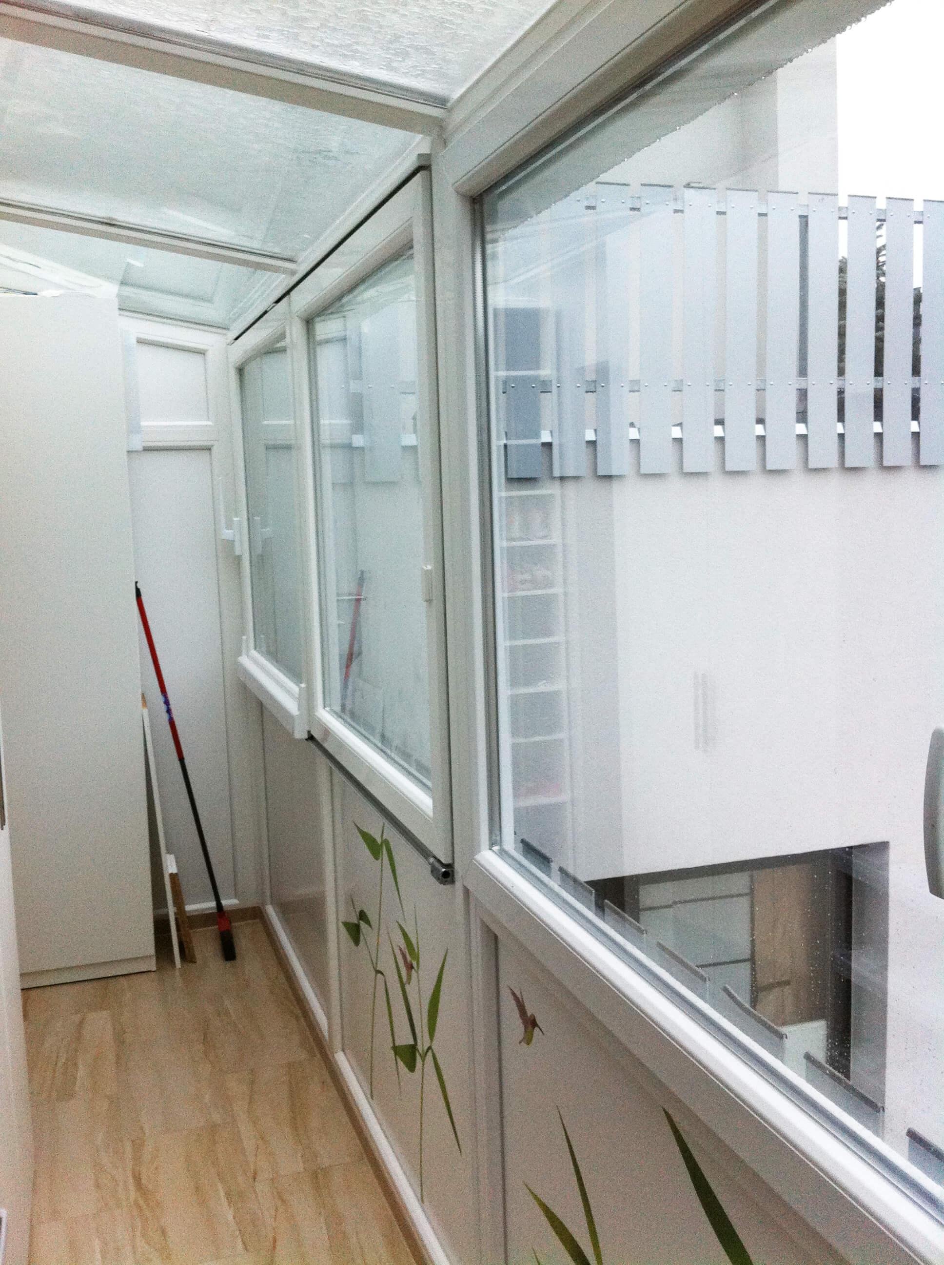 Balkonverbauten