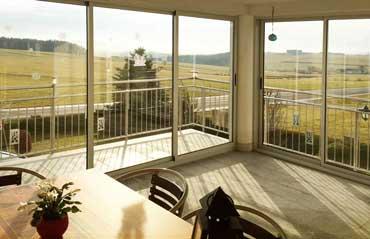 Balkonverglasung Lärmschutz