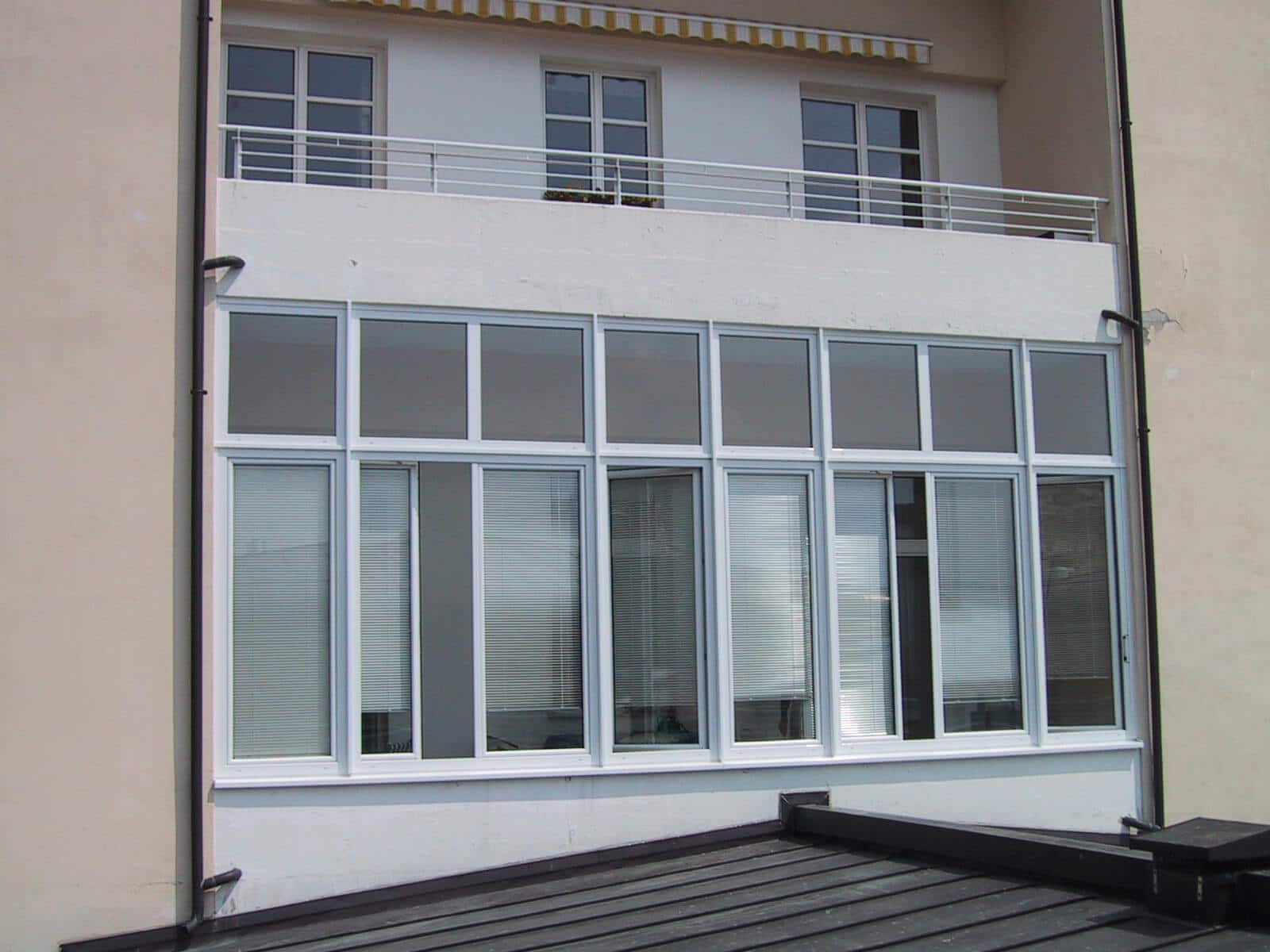 Balkonverglasung Schallschutz