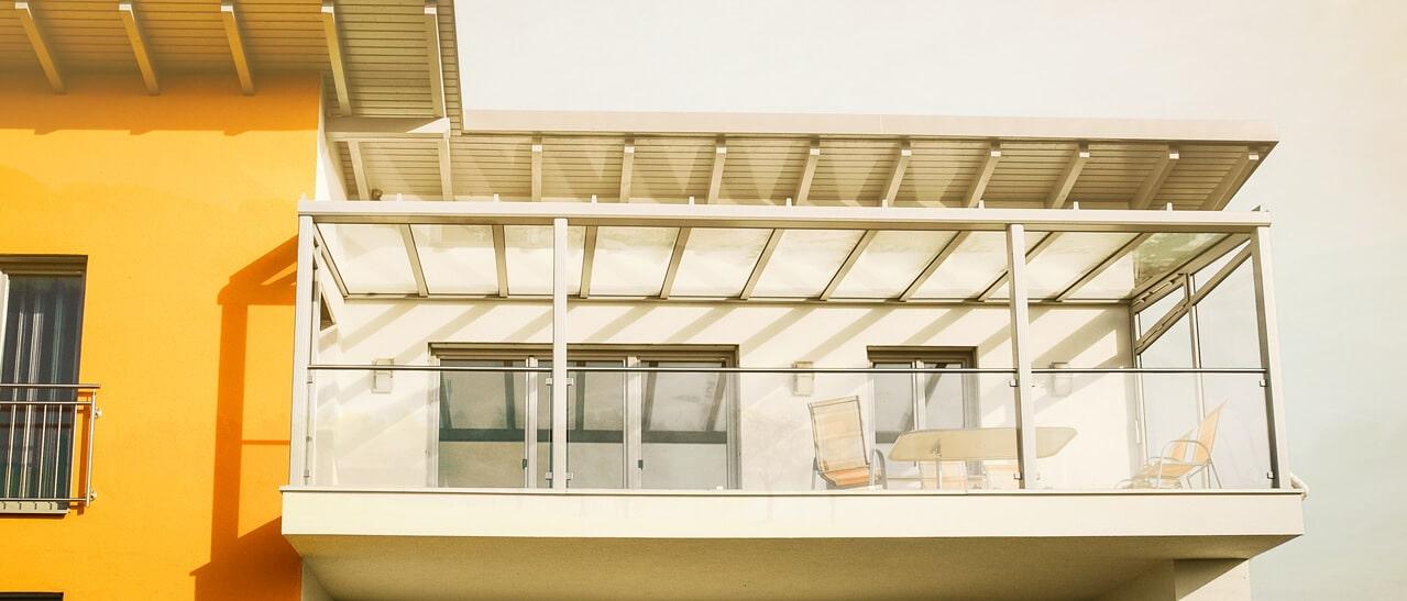 Balkonverglasungen mit ESG oder VSG