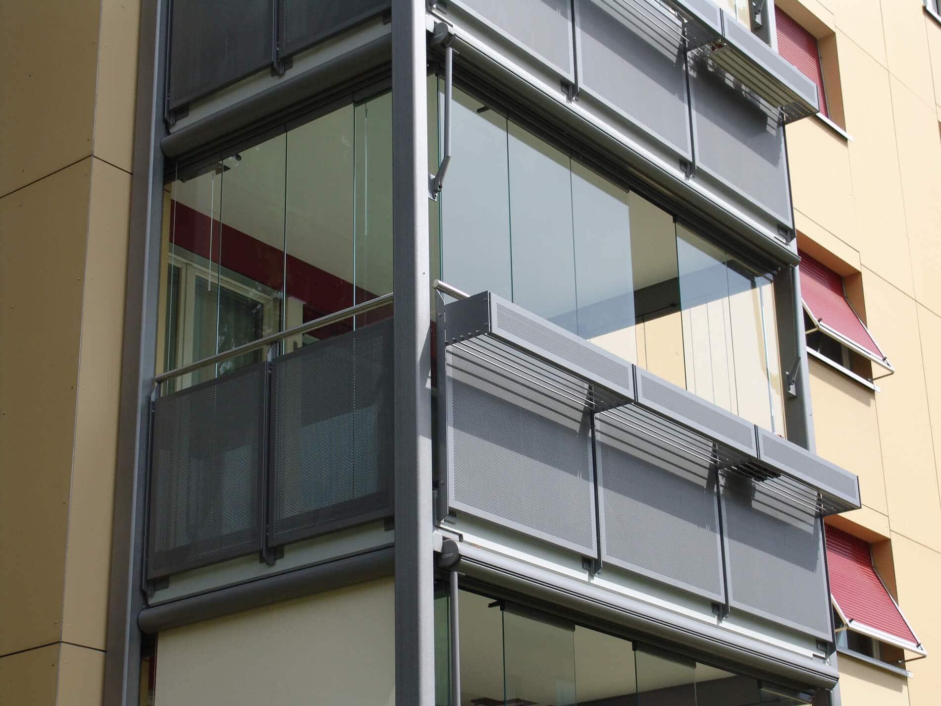 Balkonverkleidung Glas Oberösterreich