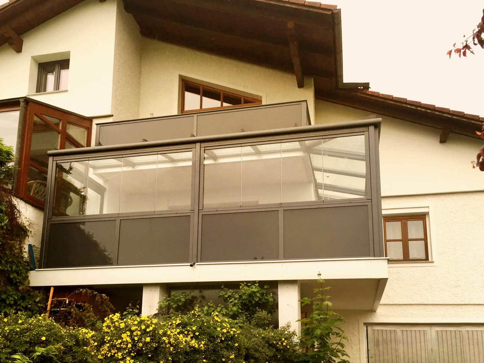 schiebet ren f r holzhaus aus aluminium glas fenster schmidinger. Black Bedroom Furniture Sets. Home Design Ideas