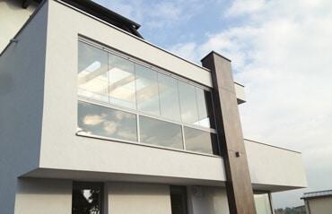 Balkonverglasung Sicherheitsgläser