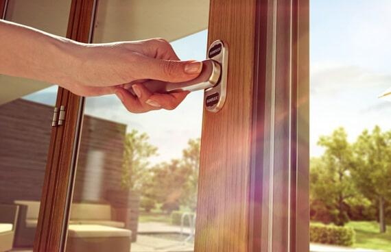 Bedienung Glasfaltwand Sunflex SF 35