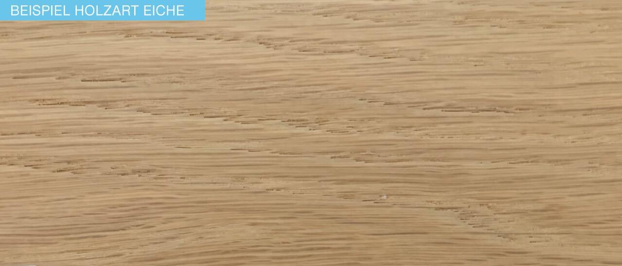 Beispiel Holzart eiche für Fenster