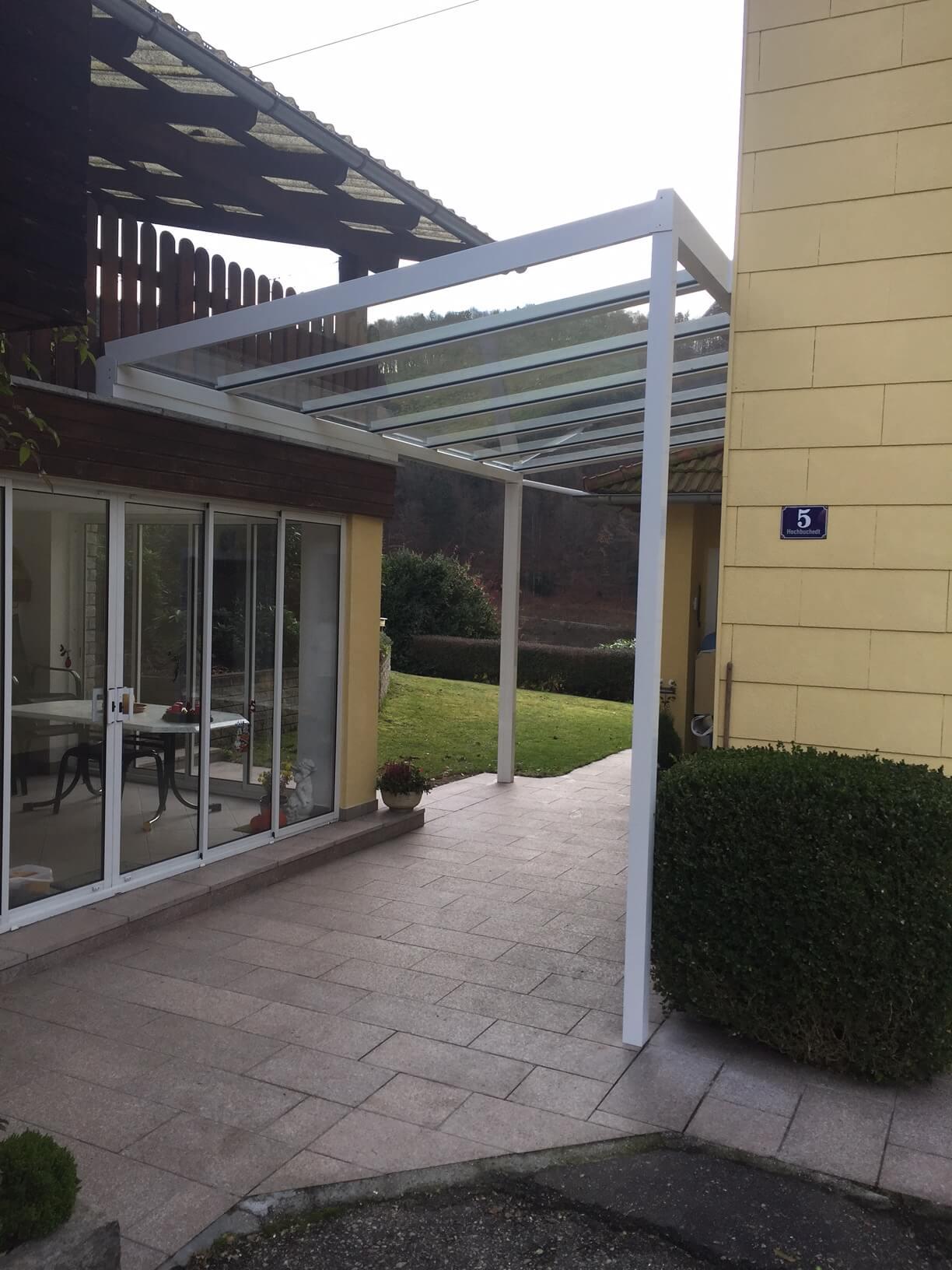 Dachverglasung Sicherheitsglas