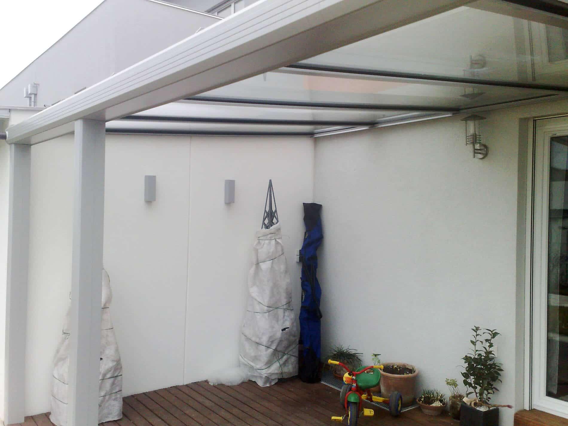 Dachverglasung Terrasse