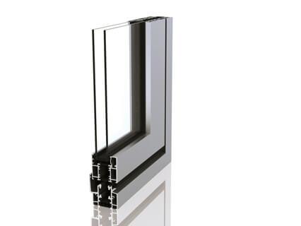 SUNFLEX Glas-Faltwände SF55 Aluminium thermisch getrennt