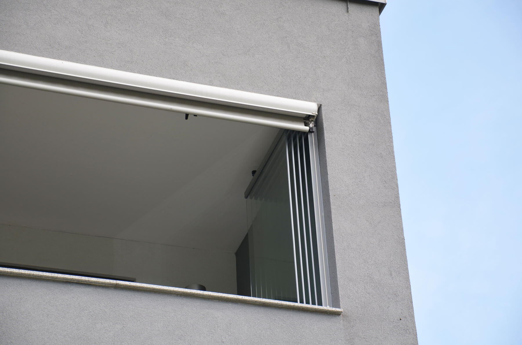 Detail Glas Faltwand Fur Balkon Balkonverglasungen