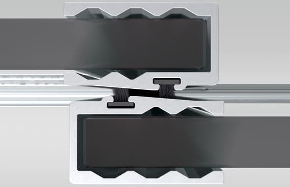 Detail oben - Sunflex SF 20 - Steel Look - Industrial
