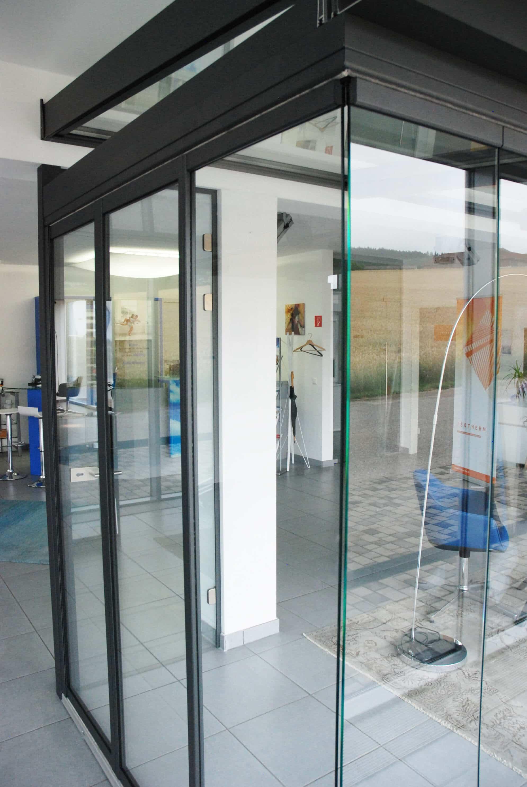 Dreh Schiebe Systeme mit oder ohne Rahmen - Fenster-Schmidinger