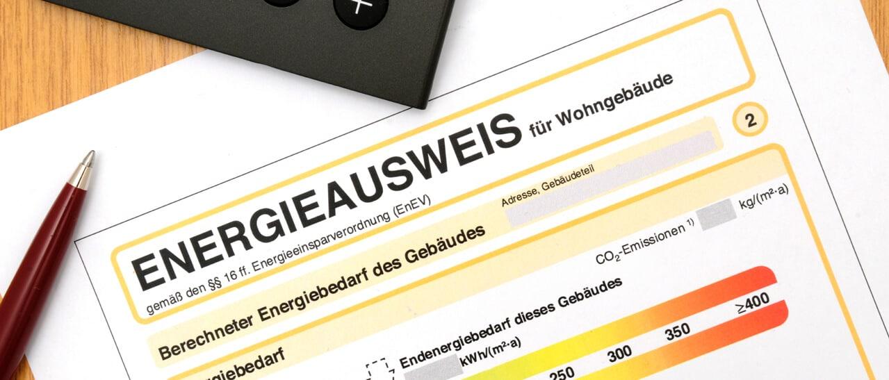 Energieausweis Förderung erforderlich