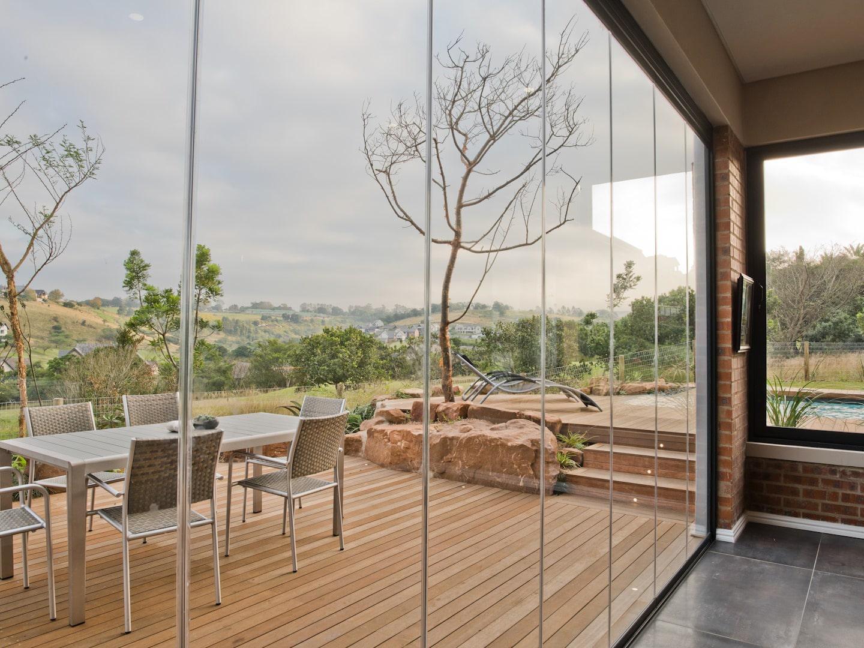 Faltschiebetür Terrasse - Wetterschutz
