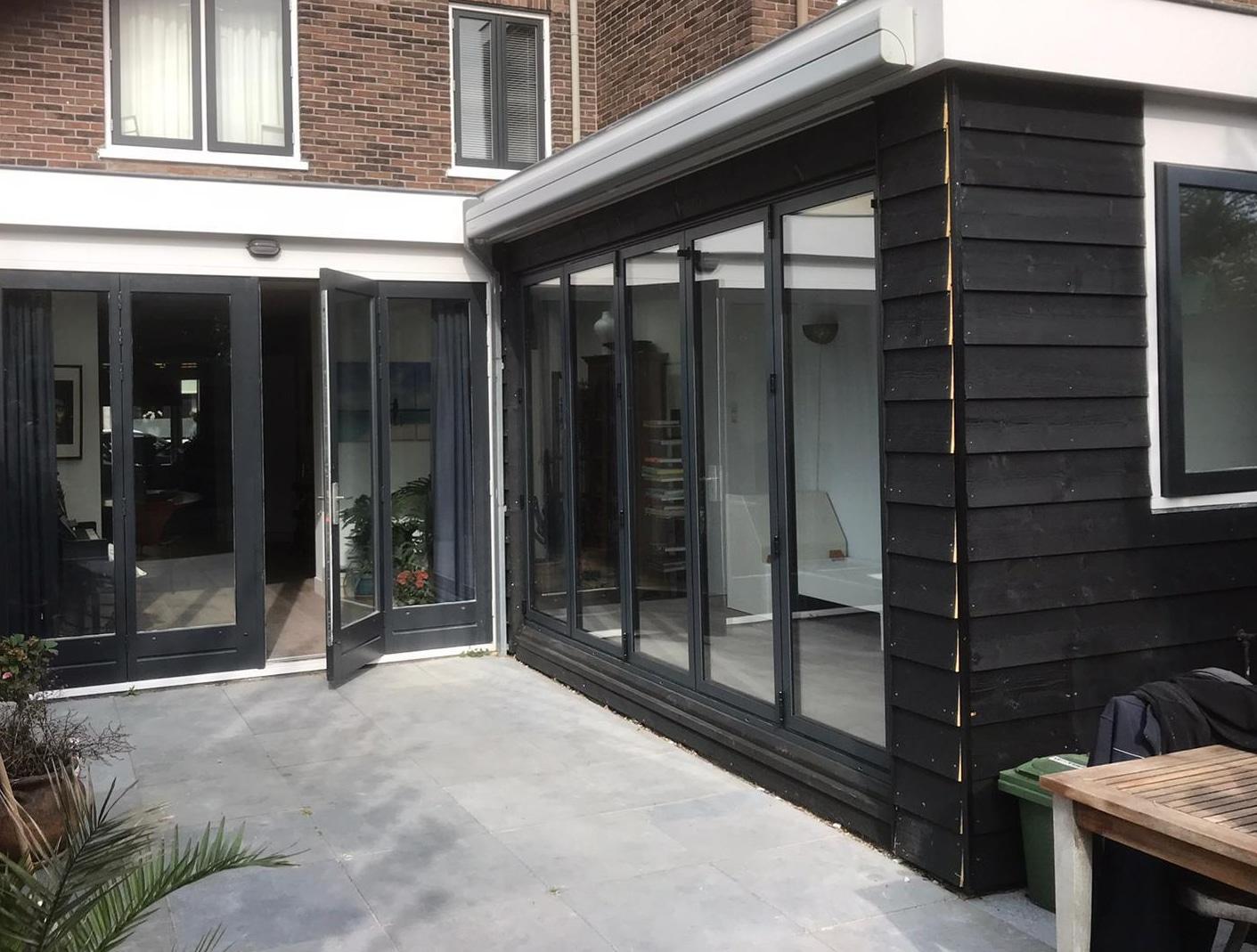 Falttür für Außenbereich