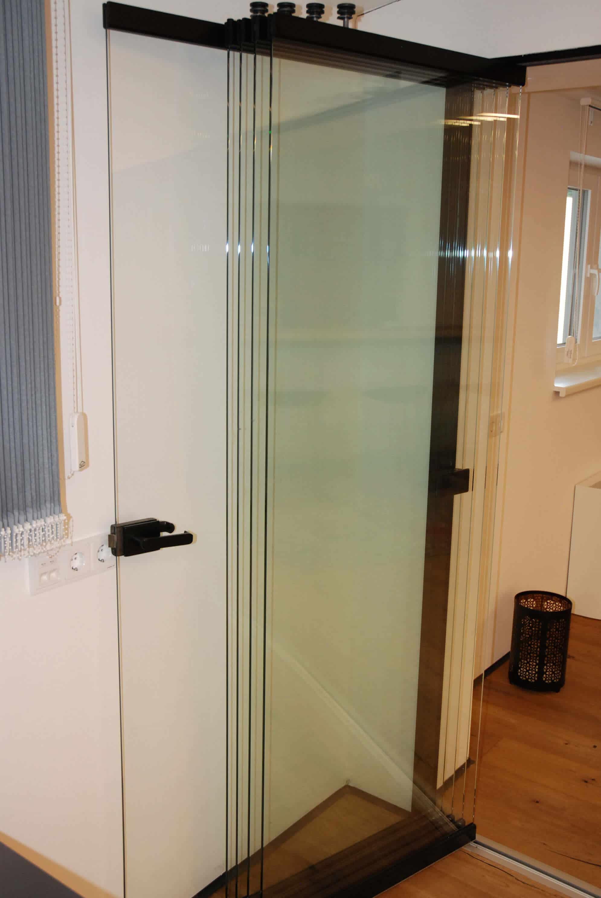 Falttür Glas für innen oder außen