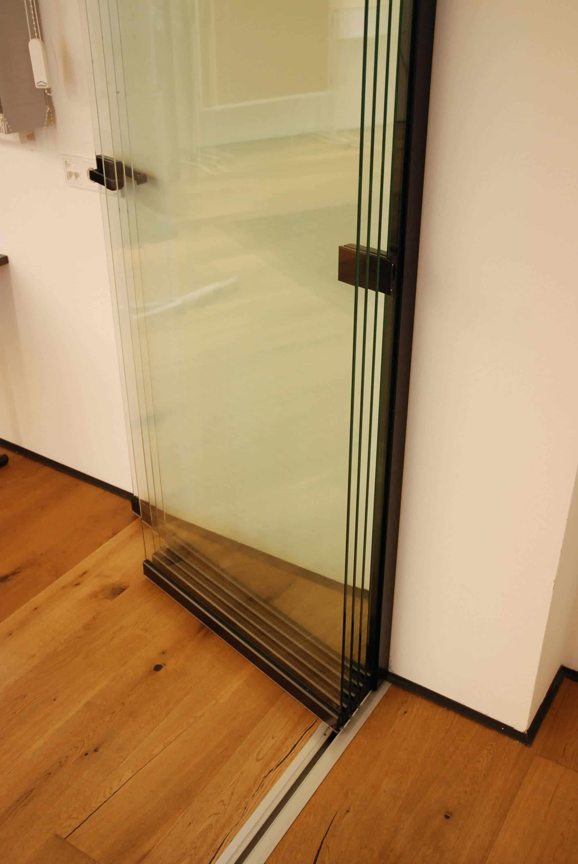 Falttür Glastür für Innenbereiche