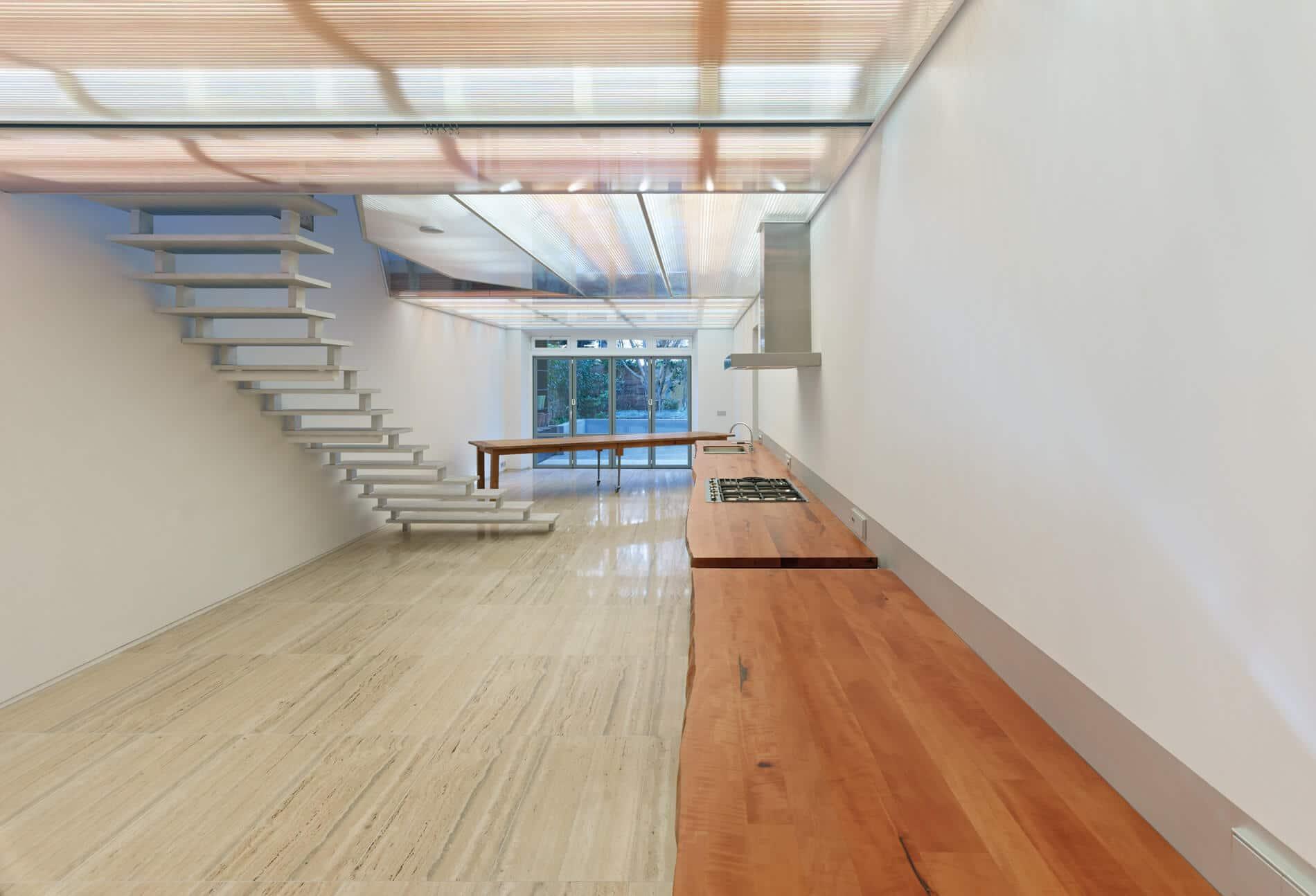 Falttüre Sunflex für modernes Gebäude