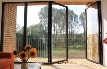 Glas-Faltwand Sunflex SF 55c