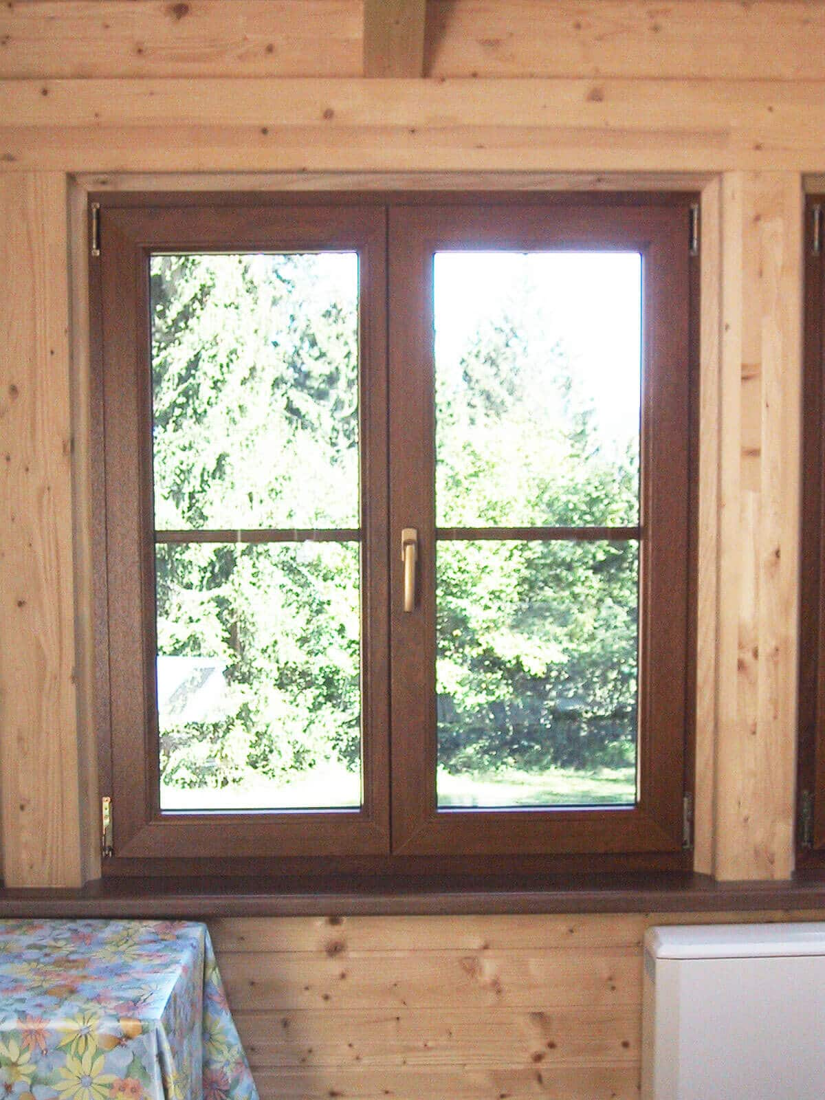 Fenster Golden Oak innen