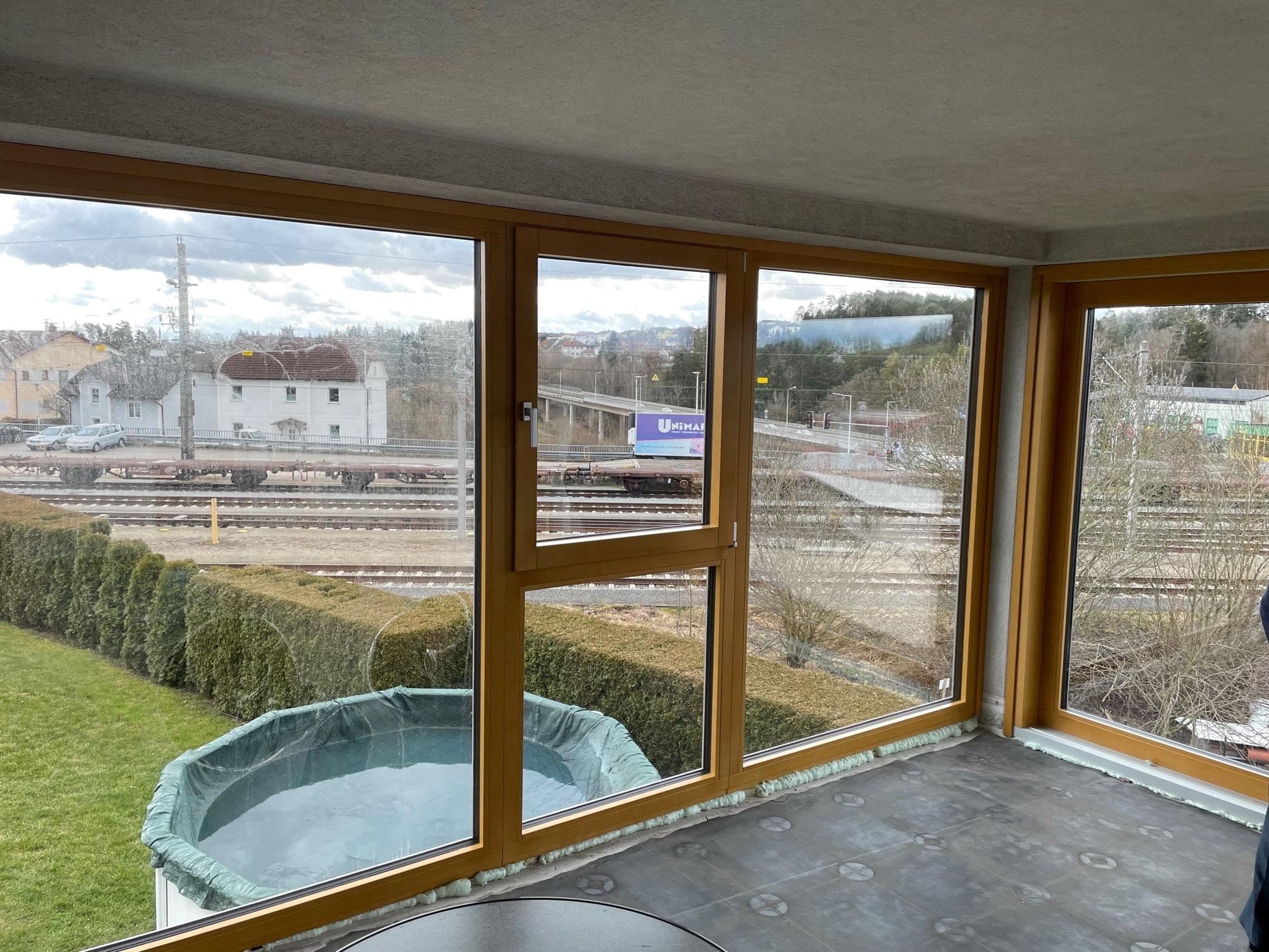 Fenster Holz Alu für Bauvorhaben 4232 Hagenberg