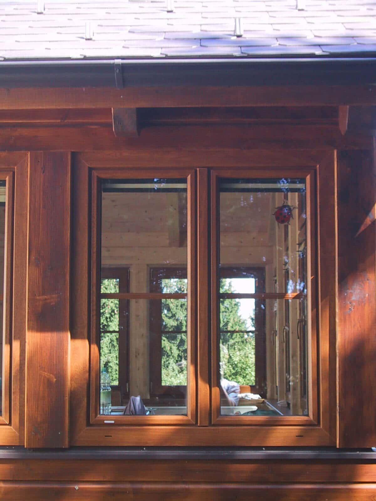 Fenster Holzdekor
