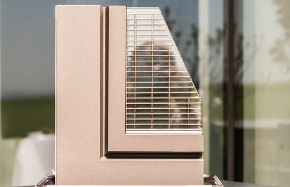 Fenster flächenbündig